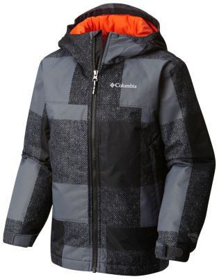 Boys' Wrecktangle™ Insulated Hooded Jacket at Columbia Sportswear in Oshkosh, WI | Tuggl