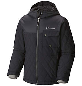 Boys Lookout Cabin™ Insulated Hooded Jacket