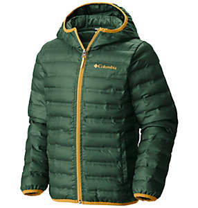 Kids' Flash Forward Hooded Down Jacket