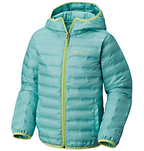 Kids' Flash Forward Hooded Down Jacket