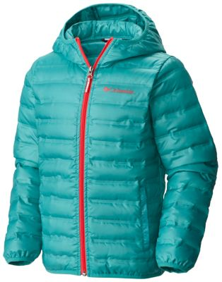 Kids' Flash Forward Hooded Down Jacket | Tuggl