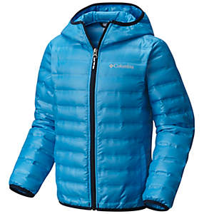 Kid's Flash Forward Hooded Down Jacket - Youth