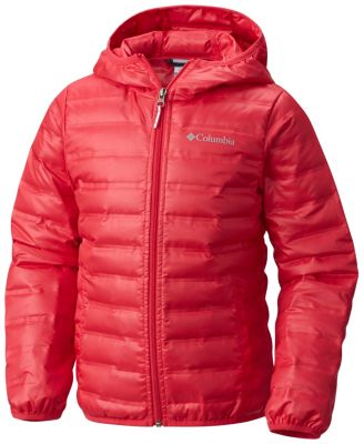 Kid's Flash Forward Hooded Down Jacket - Youth at Columbia Sportswear in Oshkosh, WI | Tuggl