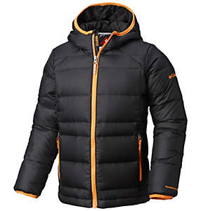 Boys' Gold 550 TurboDown™ Hooded Down Jacket