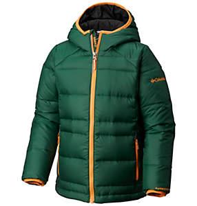 Boys' Gold 550 TurboDown™ Hooded Down Jacket