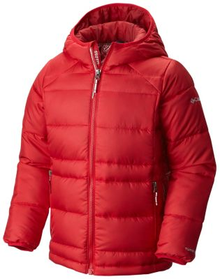 Boys' Gold 550 TurboDown™ Hooded Down Jacket | Tuggl
