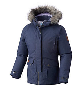 Girl's Barlow Pass™ 600 TurboDown Insulated Hooded Jacket