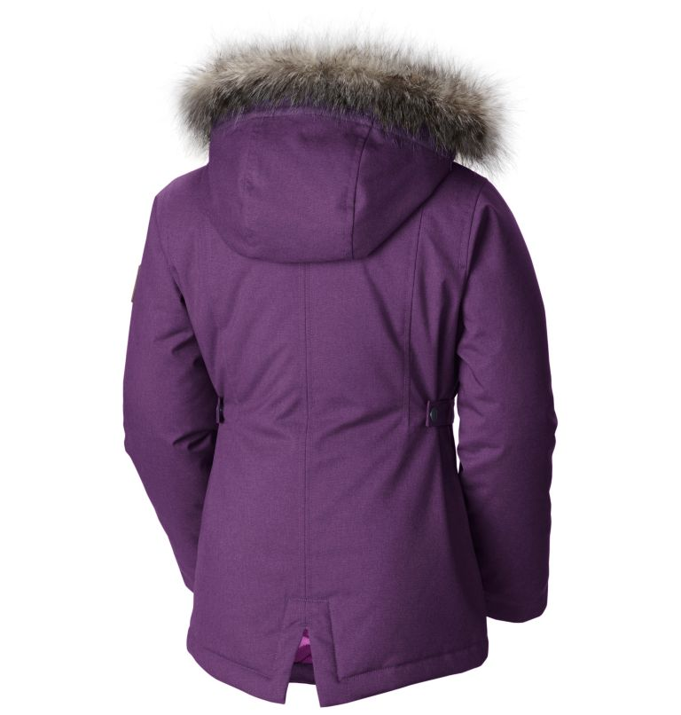 Girl's Barlow Pass™ 600 TurboDown Insulated Hooded Jacket Girl's Barlow Pass™ 600 TurboDown Insulated Hooded Jacket, back