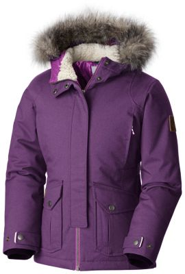 Girl's Barlow Pass™ 600 TurboDown Insulated Hooded Jacket | Tuggl