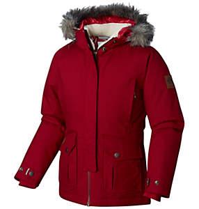 Manteau isolé à capuchon Barlow Pass 600 TurboDown pour fille