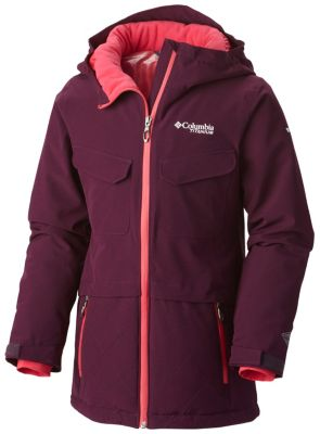 Girl's EmPOWder™ Insulated Hooded Jacket at Columbia Sportswear in Oshkosh, WI | Tuggl