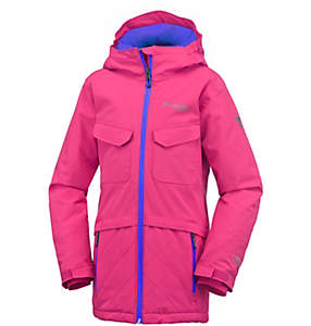 Girls' EmPOWder™ Insulated Hooded Jacket