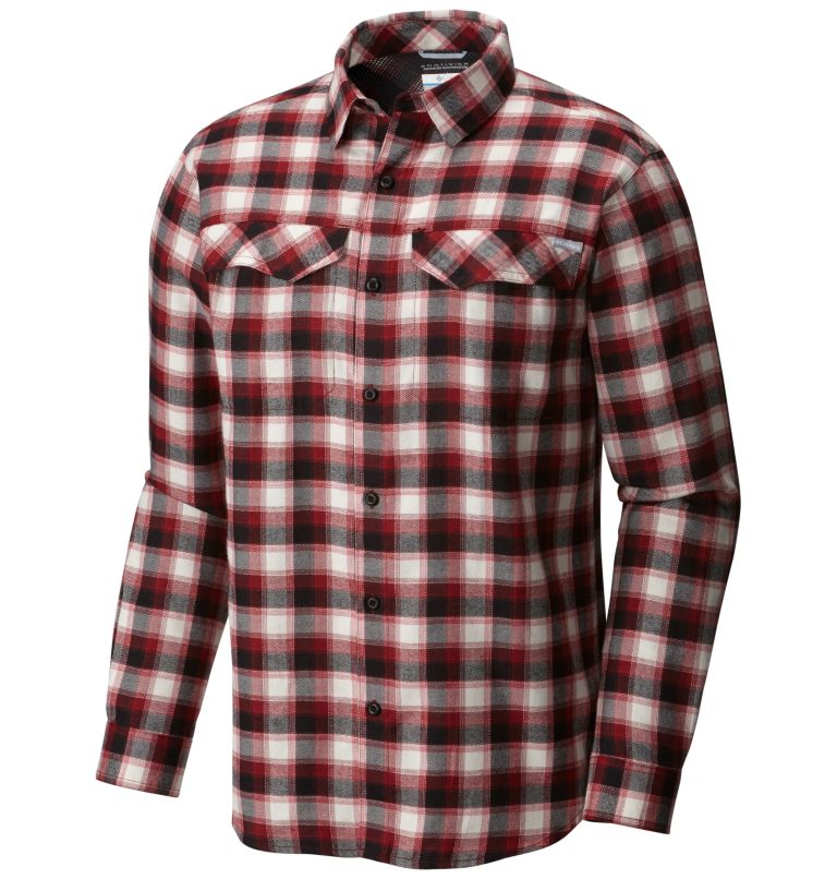 Chemise à manches longues en flanelle Silver Ridge™ Homme Chemise à manches longues en flanelle Silver Ridge™ Homme, front