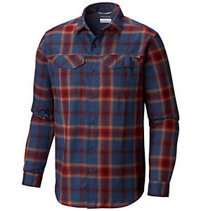 Men's Silver Ridge™ Flannel Long Sleeve Shirt – Big
