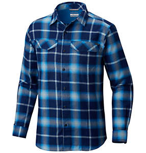 Men's Silver Ridge™ Flannel Long Sleeve Shirt - Tall