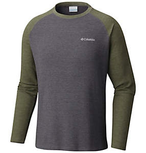 Men's Ketring™ Raglan Waffle Long Sleeve Shirt - Tall