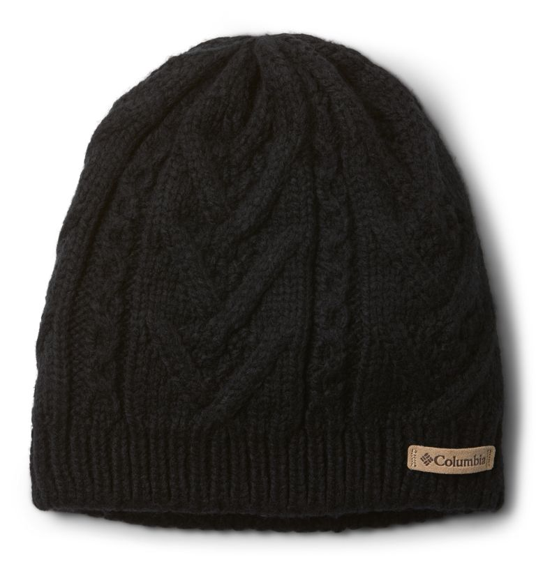 Parallel Peak™ II Beanie | 010 | O/S Bonnet Parallel Peak™ II Femme, Black, front