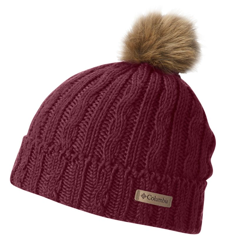 Catacomb Crest™ Beanie | 663 | O/S Catacomb Crest™ Unisex Beanie, Chianti, front