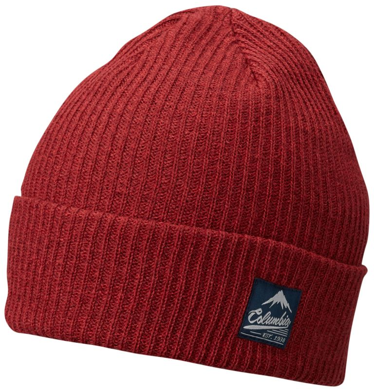 Lost Lager™ Beanie | 611 | O/S Bonnet Lost Lager™ Unisexe, Red Element, front