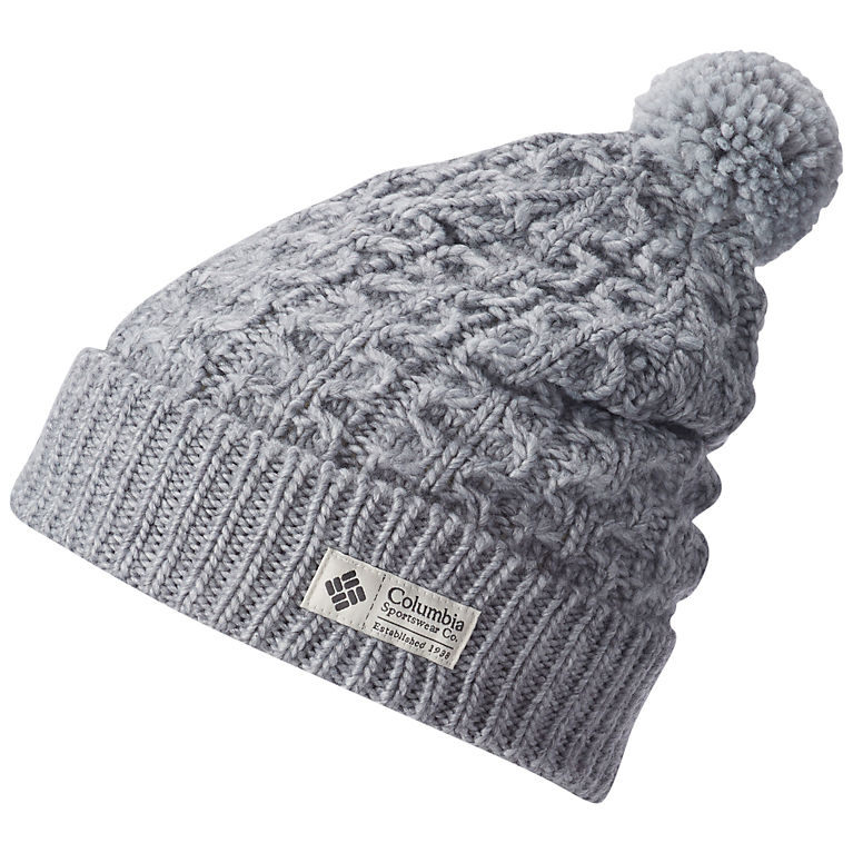 8d6e19cd14caf Hideaway Haven Cuffed Pom Pom Wool Knit Beanie Hat