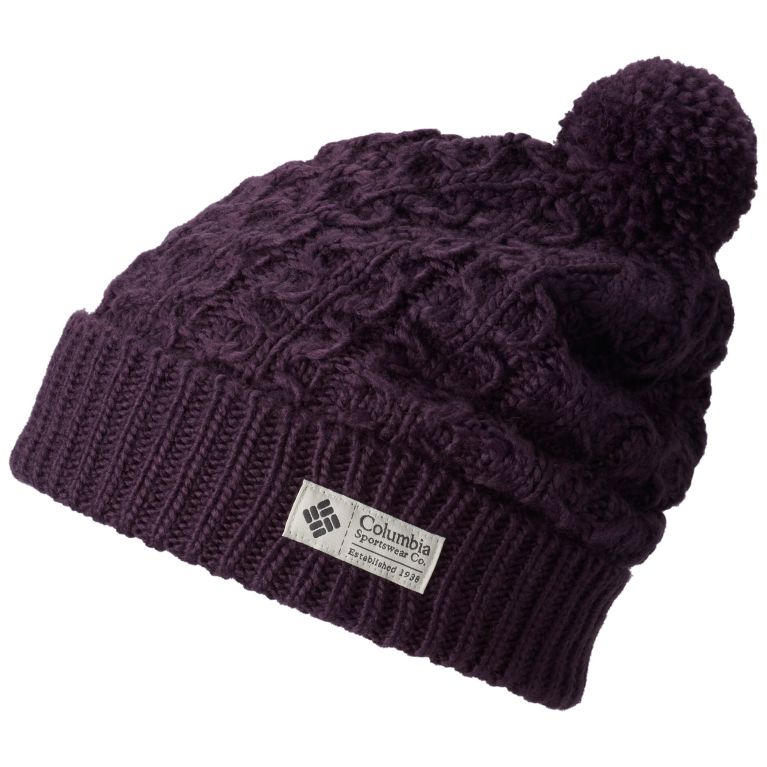 da08e723367 Hideaway Haven Cuffed Pom Pom Wool Knit Beanie Hat