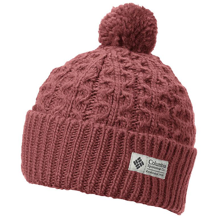 cb75753ed9e552 Hideaway Haven Cuffed Pom Pom Wool Knit Beanie Hat | Columbia