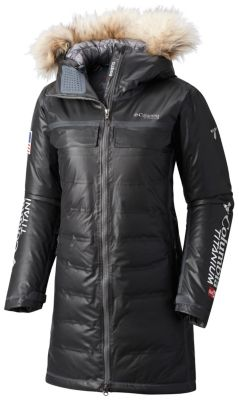 Women's OutDry™ Ex Diamond Heatzone Long Parka at Columbia Sportswear in Oshkosh, WI | Tuggl