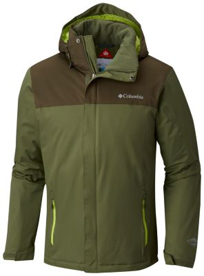 Columbia Everett Mountain Men's Jacket (Mosstone/Peatmoss)
