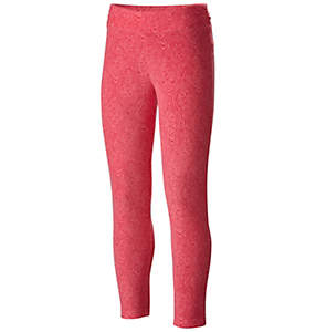Girl's Glacial™ Printed Fleece Legging Pant