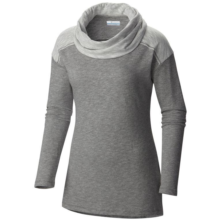 cfb60fb2f57 Columbia | Women's Easygoing Heathered Drop Shoulder Long Sleeve Cowl Tunic