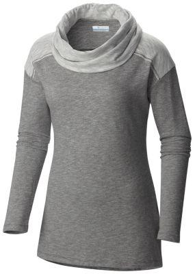 Women's Easygoing™ Long Sleeve Cowl Tunic Shirt - Plus Size | Tuggl