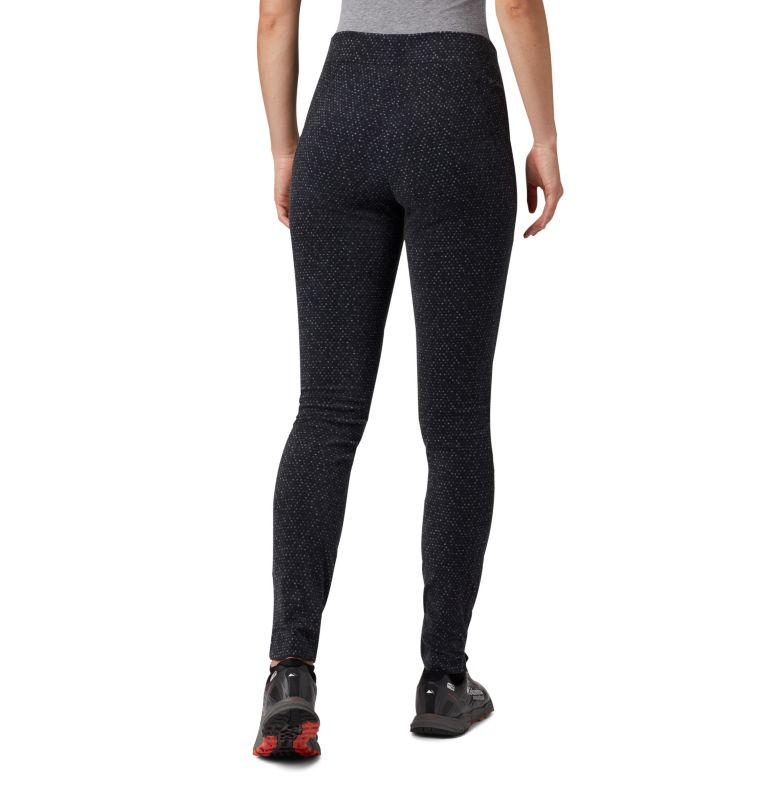 Women's Glacial™ Fleece Printed Legging Pant Women's Glacial™ Fleece Printed Legging Pant, back