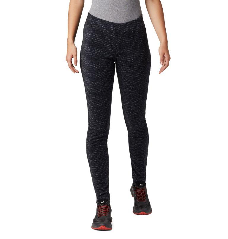 Women's Glacial™ Fleece Printed Legging Pant Women's Glacial™ Fleece Printed Legging Pant, front