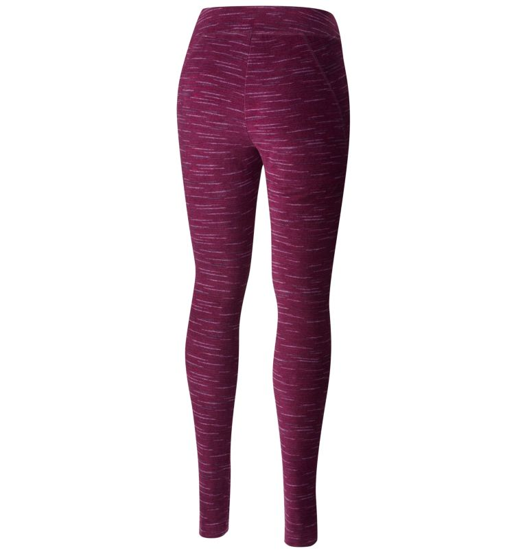 Women's Glacial™ Fleece Printed Legging Pant Women's Glacial™ Fleece Printed Legging Pant, back