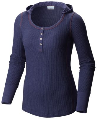88a5af420e7 Women's Weekday Waffle Henley Long Sleeve