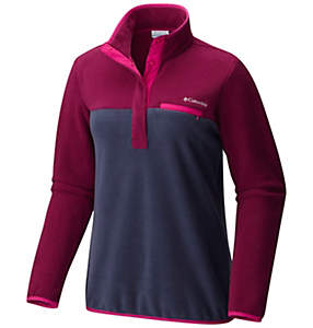 Womens Mountain SideTM Pull Over Fleece Jacket