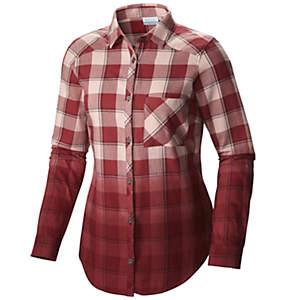 Women's Hood Mountain Lodge™ Long Sleeve Flannel Shirt