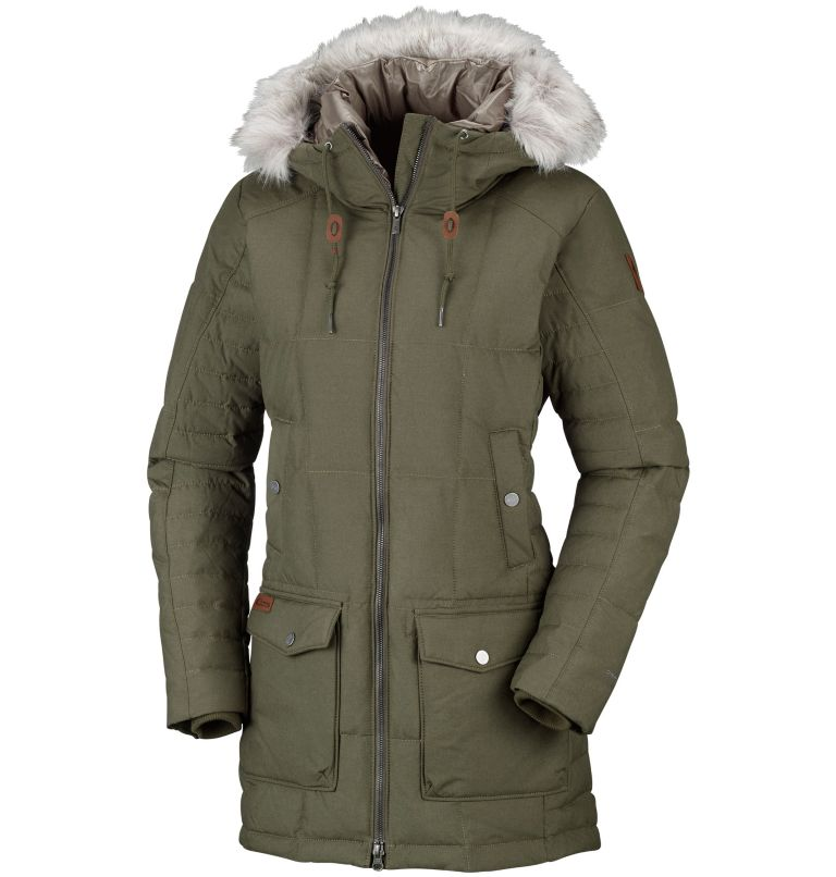 Women's Della Fall™ Mid Insulated Hooded Jacket Women's Della Fall™ Mid Insulated Hooded Jacket, front