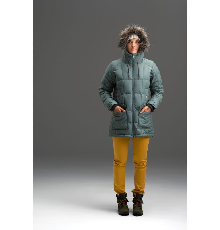Women's Della Fall™ Mid Insulated Hooded Jacket Women's Della Fall™ Mid Insulated Hooded Jacket, a1