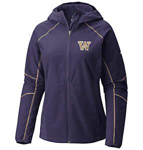 Women's Collegiate Sweet As™ Softshell Hoodie - Washington