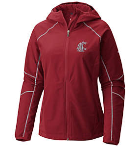 Women's Collegiate Sweet As™ Softshell Hoodie - Washington State