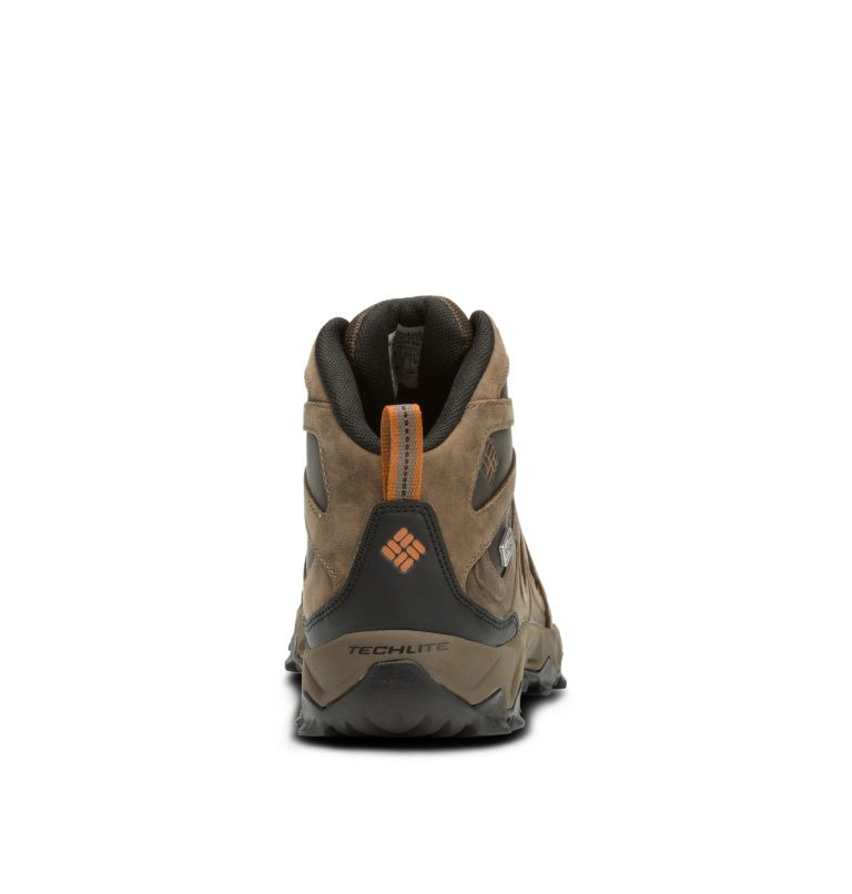 Men's Peakfreak XCRSN II Mid Leather OutDry™ Trail Shoe Men's Peakfreak XCRSN II Mid Leather OutDry™ Trail Shoe, back