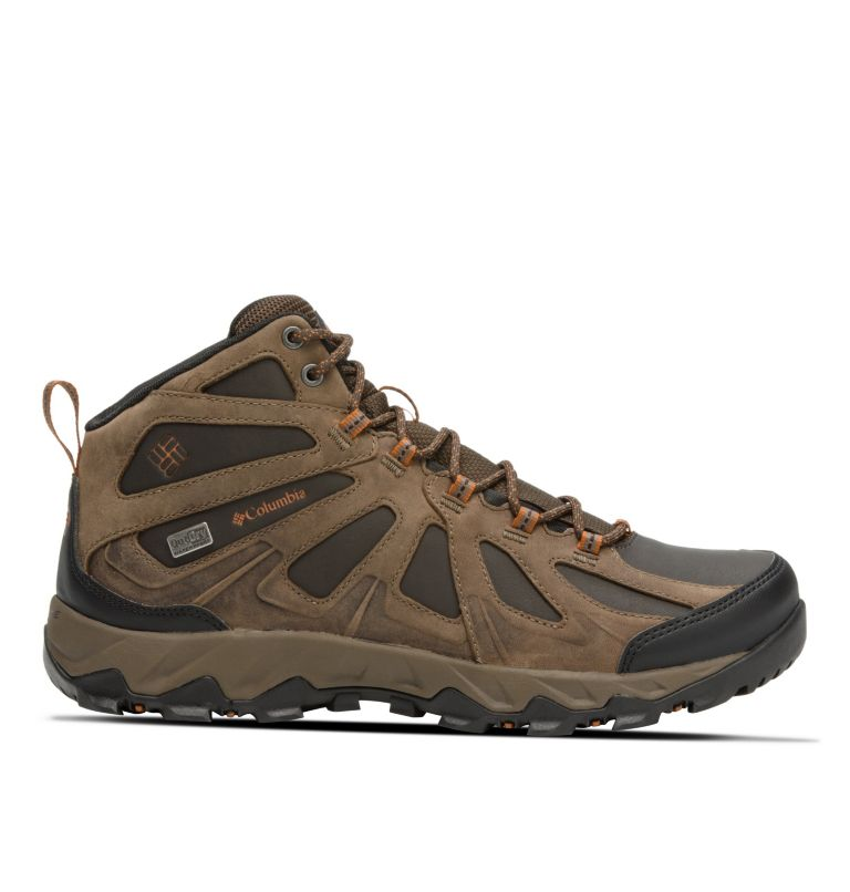 Men's Peakfreak XCRSN II Mid Leather OutDry™ Trail Shoe Men's Peakfreak XCRSN II Mid Leather OutDry™ Trail Shoe, front