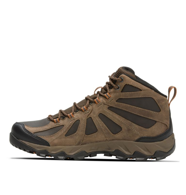 Men's Peakfreak XCRSN II Mid Leather OutDry™ Trail Shoe Men's Peakfreak XCRSN II Mid Leather OutDry™ Trail Shoe, medial