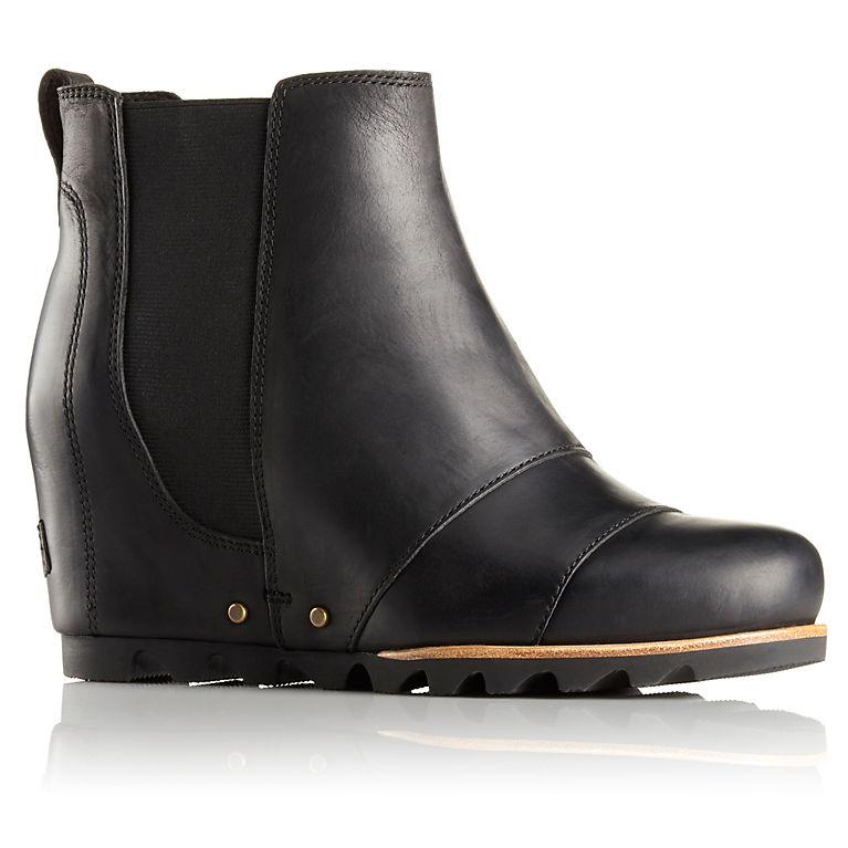 3fcb5e6cca10 SOREL Women s Lea Wedge Leather Waterproof Boot
