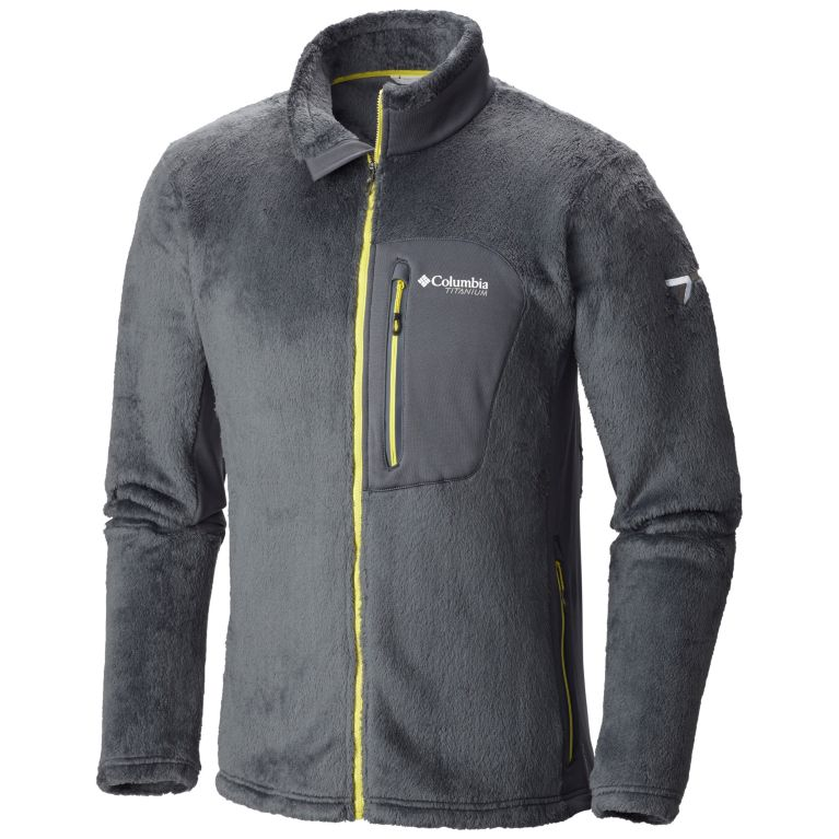bfa996127 Men's Grizzly Pass Hybrid Stretch Fleece Full Zip Jacket | Columbia