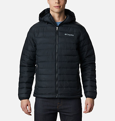 Veste à capuche isolée Powder Lite™ Homme , front
