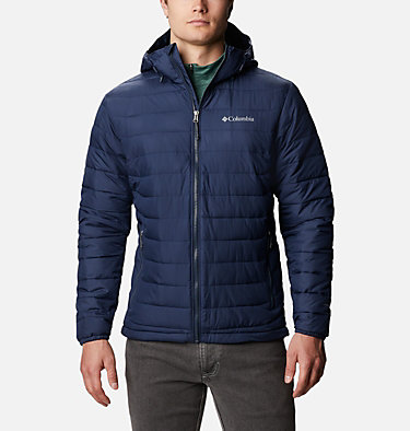 Men's Powder Lite™ Hooded Insulated Jacket , front
