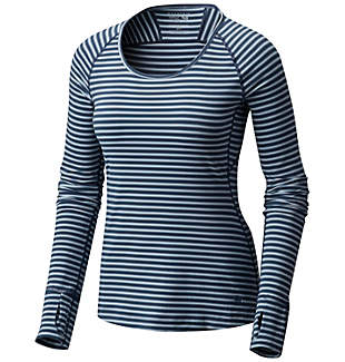 Women's Butterlicious™ Stripe Long Sleeve Crew