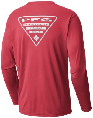 Men's Terminal Tackle PFG Triangle™ Long Sleeve Shirt | Tuggl